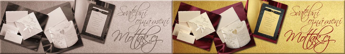 Svatební oznámení vzory