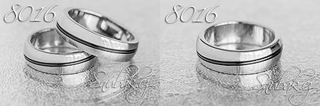 Snubní prsteny z chirurgické oceli LSP 8016
