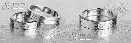 Snubní prsteny z chirurgické oceli LSP 8022